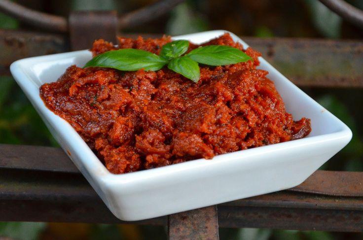 Tartinade de tomates séchées au basilic