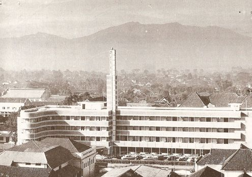 Savoy Homann Hotel Bandung in 1939