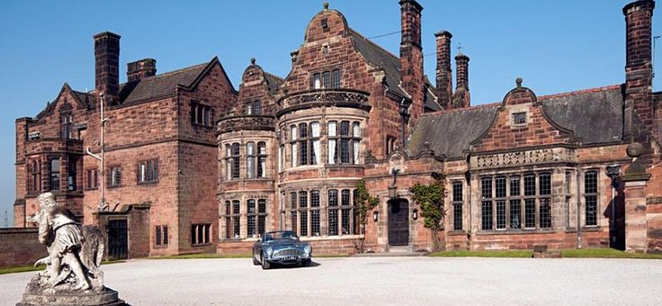 Circular Drive Entrance, Thornton Manor
