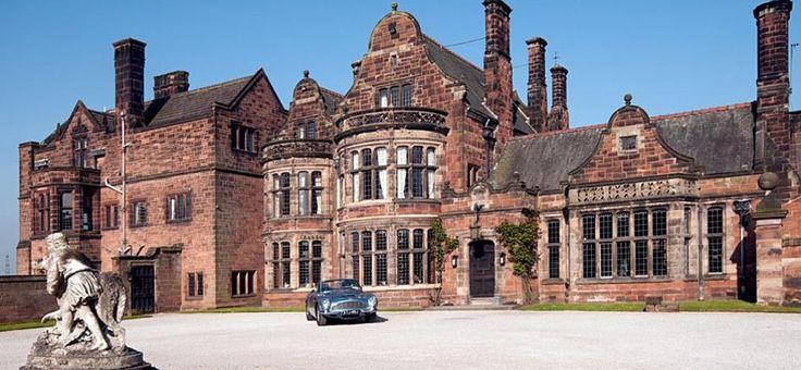 Circular Drive Entrance, Thornton Manor