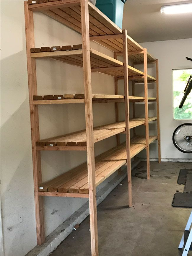 Garage Storage Plans Diy Projects