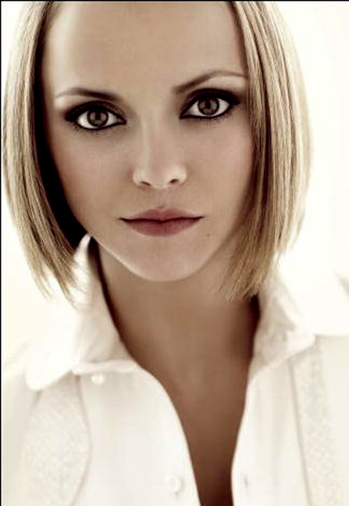 Christina Ricci, brown eyes with blonde hair | HairStyles ...