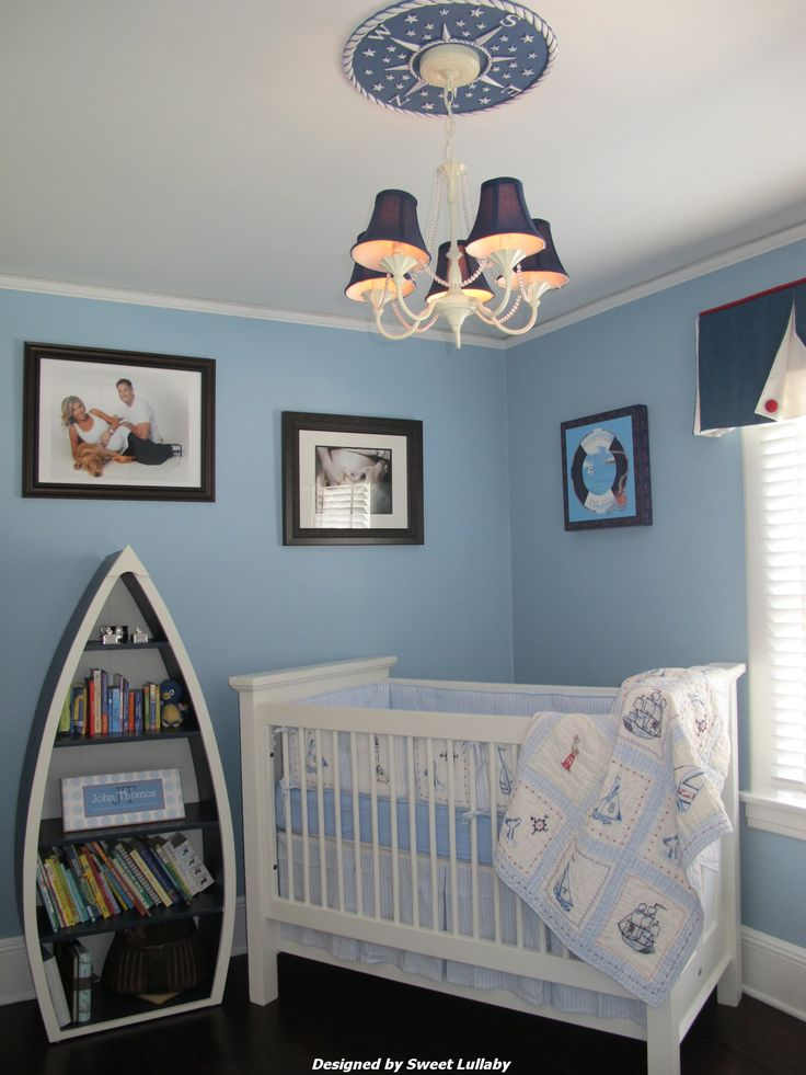 Adorable ideas for a nautical nursery!
