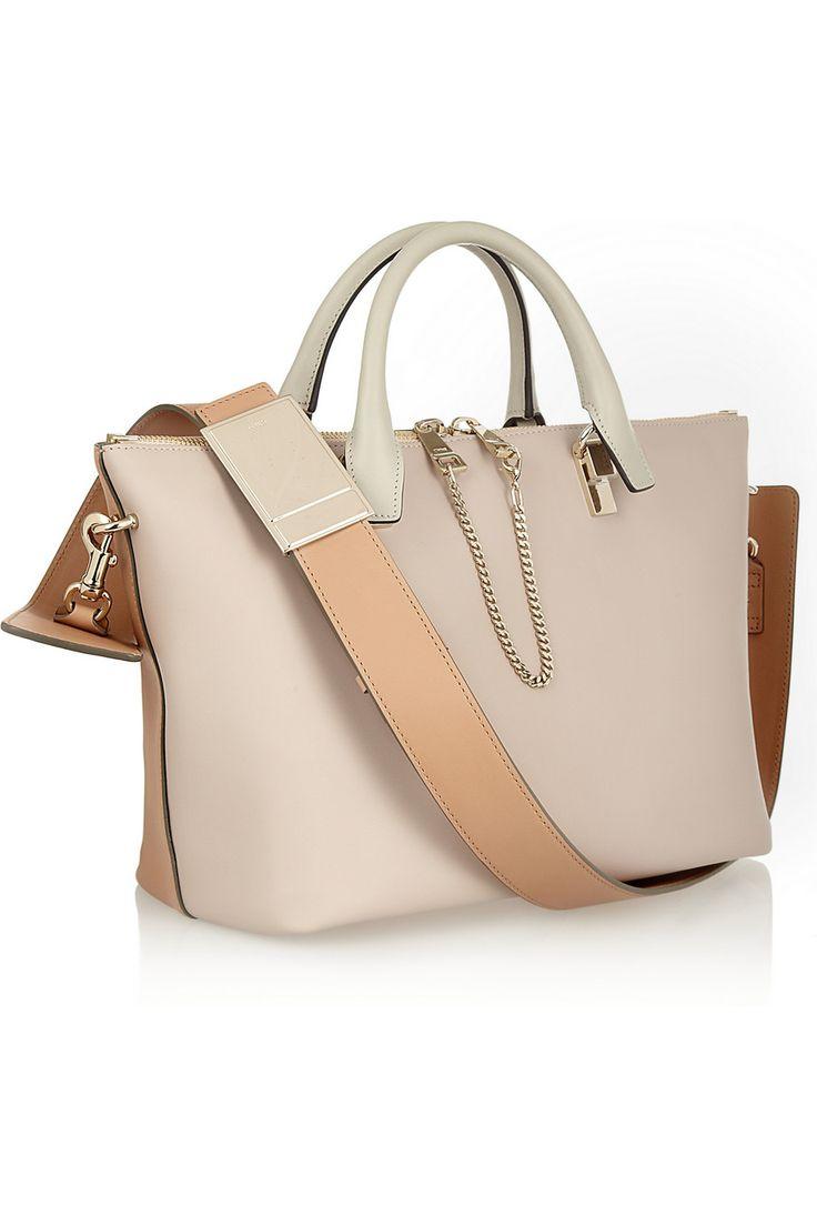 Chloé | Baylee medium leather tote | NET-A-PORTER.COM