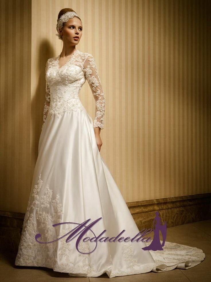 vestidos de novia elegantes para novia en modadeella