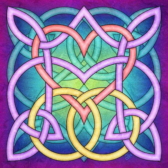 Hochzeit Knoten ~ Celtic Knot Kunst