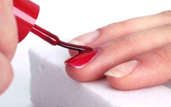 Quick and Easy Tips for a Fast DIY Manicure -  Often times we find ourselves with chipped nails and without the time to spare for a manicure. The solution? Quick and easy steps that make nails look pretty and polished in a matter of minutes. These four steps, courtesy of Bella Sugar, will give you neat and clean nails without the time commitment of a full manicure. Perfect for a girl on the go!