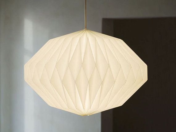 HEAVEN KNOWS    CLEAR      origami lampshade by werkdepot on Etsy, €89.00