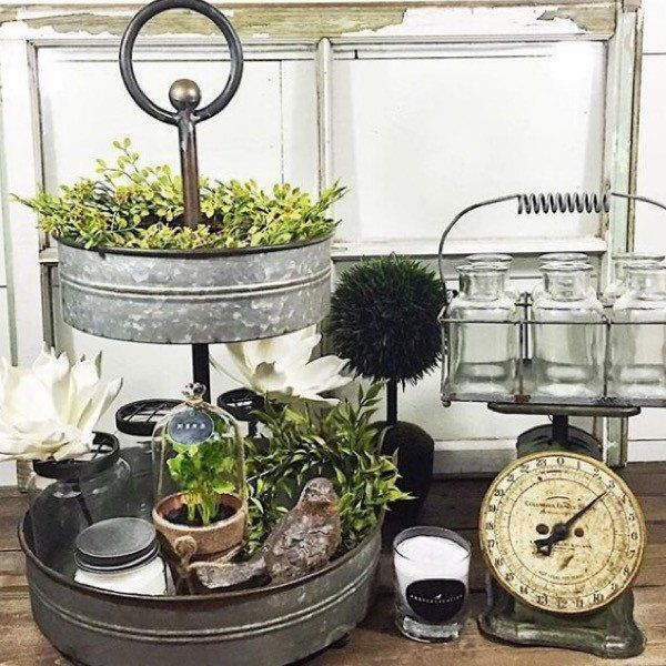 Rustic Farmhouse Kitchen Decor: 17 Best Ideas About Coffee Stands On Pinterest