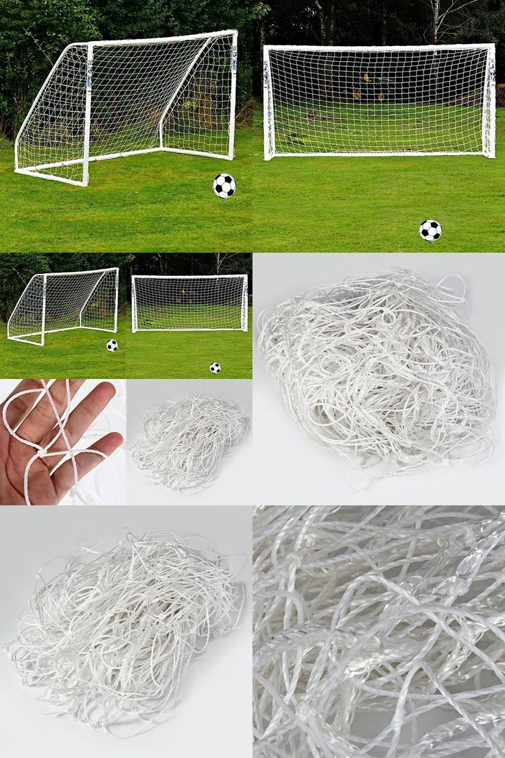 [Visit to Buy] Hot!Full Size Football Net for Soccer Goal Post Junior Sports Training 1.8m x 1.2m #Advertisement