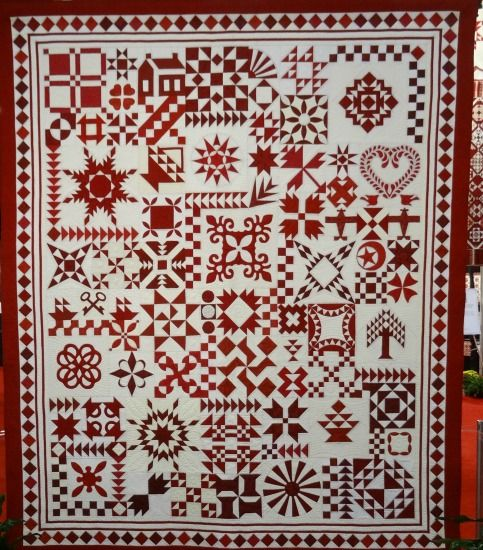 134 Best Sampler Quilt Images On Pinterest Sampler Quilts