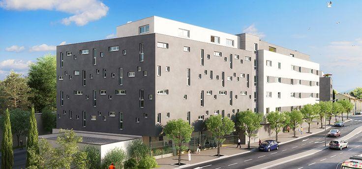 Une résidence étudiante à #Montpellier