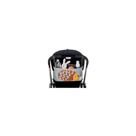 3 Sprouts Сумка-органайзер для коляски Ёжик (Brown Hedgehog SPR808), 3 Sprouts  — 1799р.  Милая сумка-органайзер для мамы. Всё необходимое будет под рукой, когда Вы отправитесь на прогулку со своим малышом. Сумочку можно просто протирать при необходимости, она имеет два отделённых отсека для стакана или бутылки. Так же, есть специальный потайной кармашек для ключей и телефона.  Дополнительная информация:  - Размер: 32x15x13 см. - Материал: полиэстер. - Орнамент: Ёжик.  Купить…