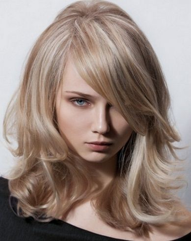 Long Blonde Hair with Highlights 2014