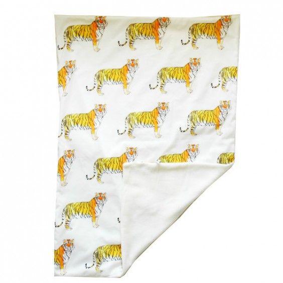 Rebecca Kiff Tiger Baby Blanket