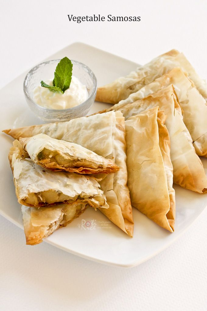 Vegetable Samosas   Recipe   Pastries, Vegetables and Potatoes