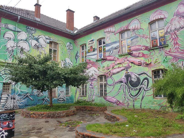 Luijbiana, (Slovenia) #culturalcenter#metelkova#
