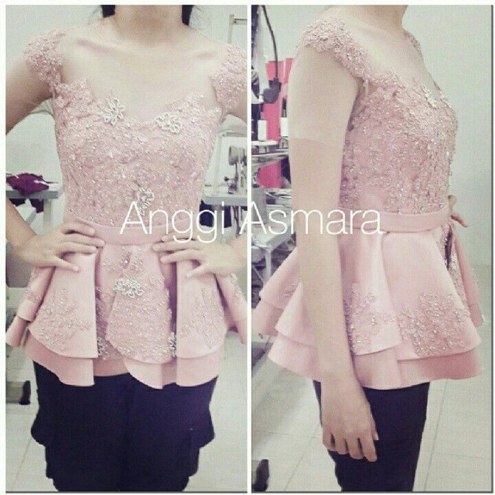Top Peplum Pink