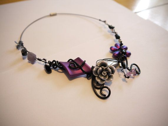 Handmade Necklace by CreationsBella on Etsy, $25.00