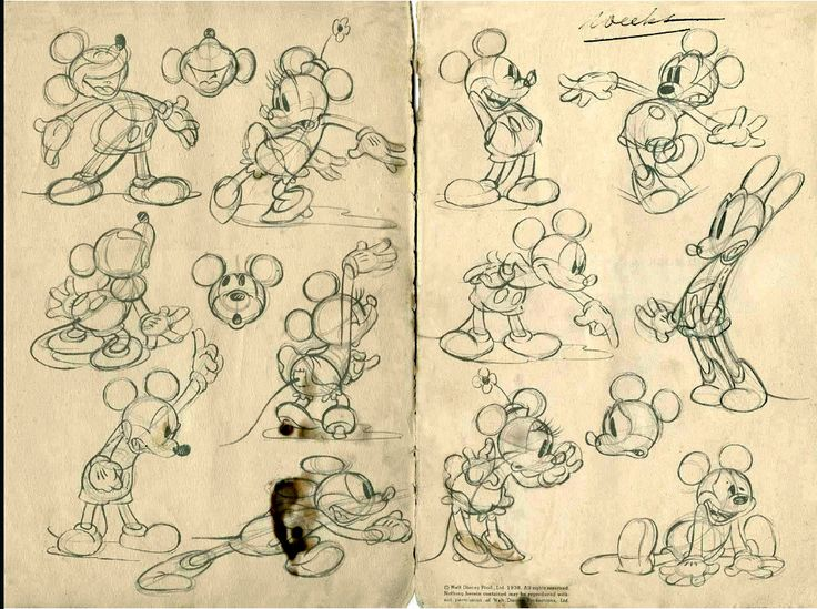 Mickey & Minnie Sketches                                                                                                                                                                                 More