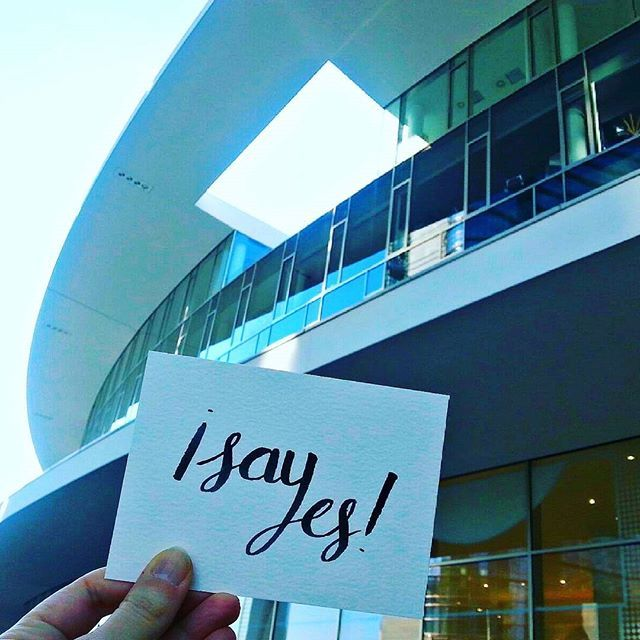 I say yes... to this window to the sky - Piazza Gae Aulenti – Milan