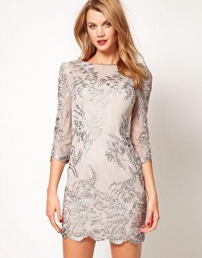 Karen Millen Lace Shift Dress