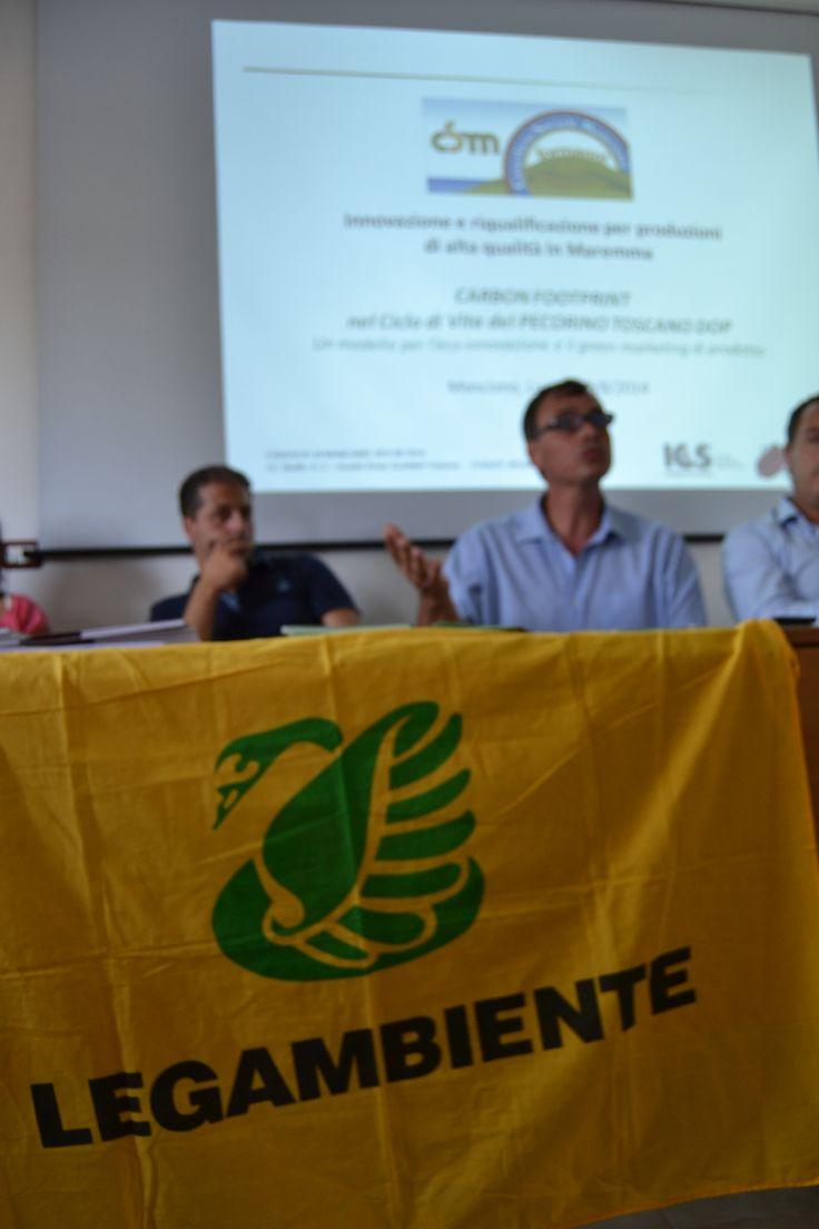 Conferenza al caseificio di Manciano
