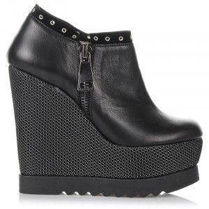 Δερμάτινα Ankle Παπούτσια - Πλατφόρμες Dolce