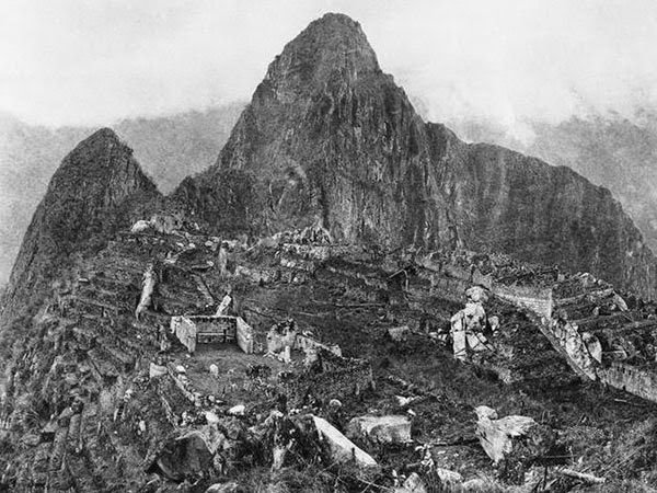 primera foto de machu pichu en 1912