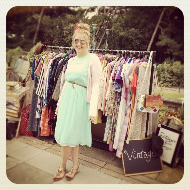 One of our vintage boutique interns Hannah!