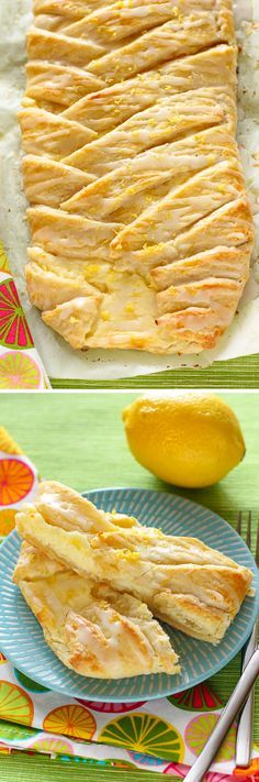 Lemon Cheesecake Braid: This gorgeous, tangy, sweet pastry braid is the perfect breakfast or dessert. It looks super fancy and will impress guests, but it's shockingly easy to make. If you're a lemon fan, you must make this!