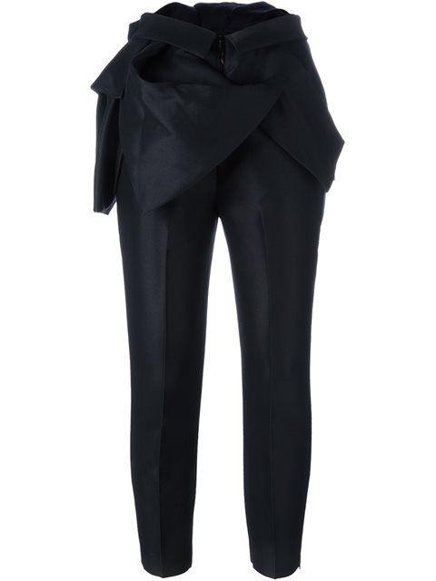 Dsquared2 строгие брюки с оборками