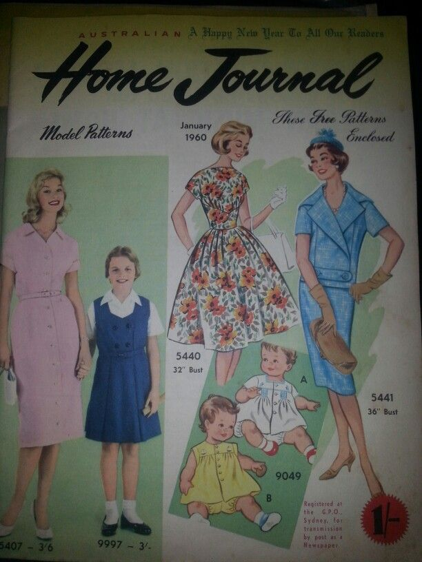 Australian home journal January 1960 cover