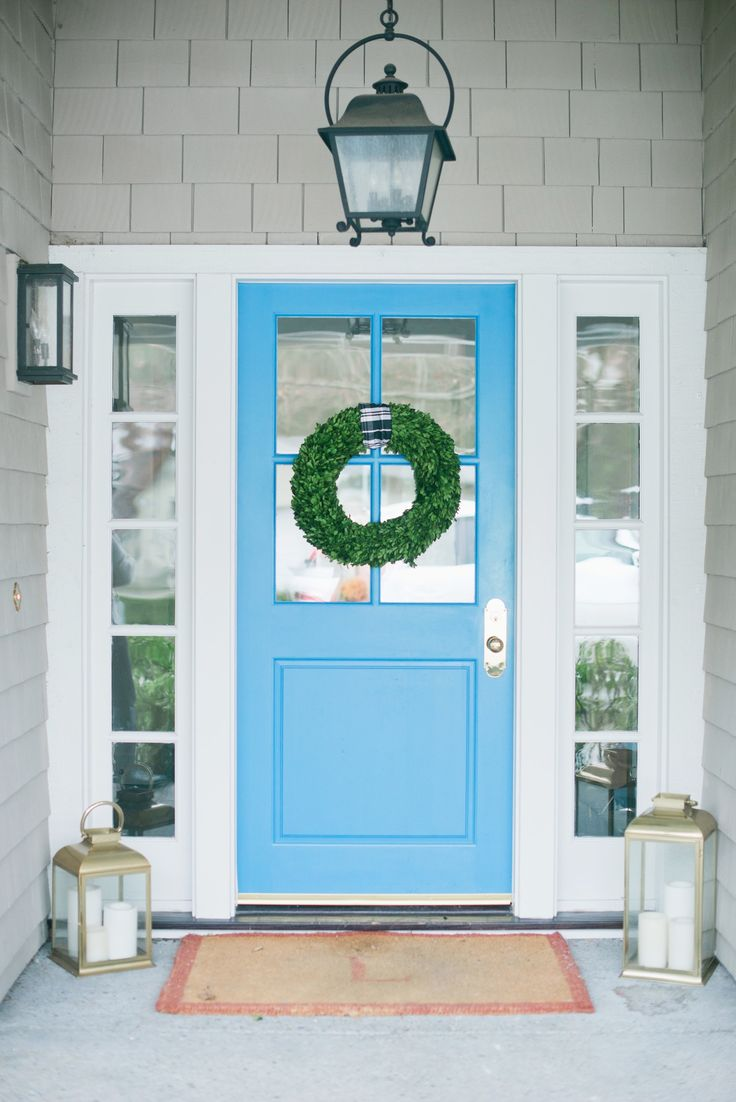 Blue door from Modern Glam