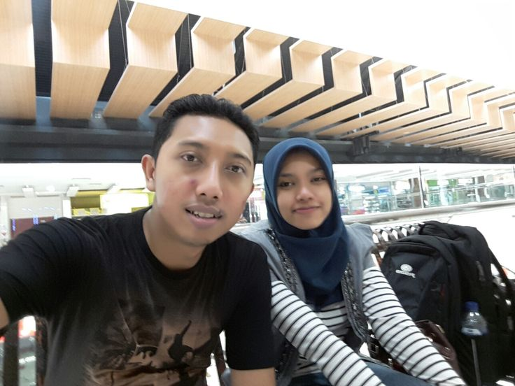 With her