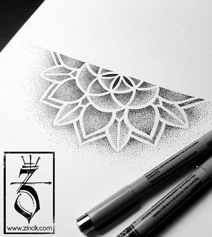 Martin Tattooer Zincik - Tattoo ZINCIK, Mandala dotwork tattoo design, Tetování Brno  / Praha