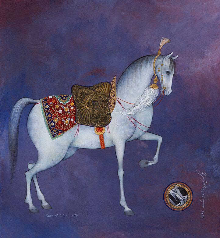 the horse, by reza mahdavi, 2014