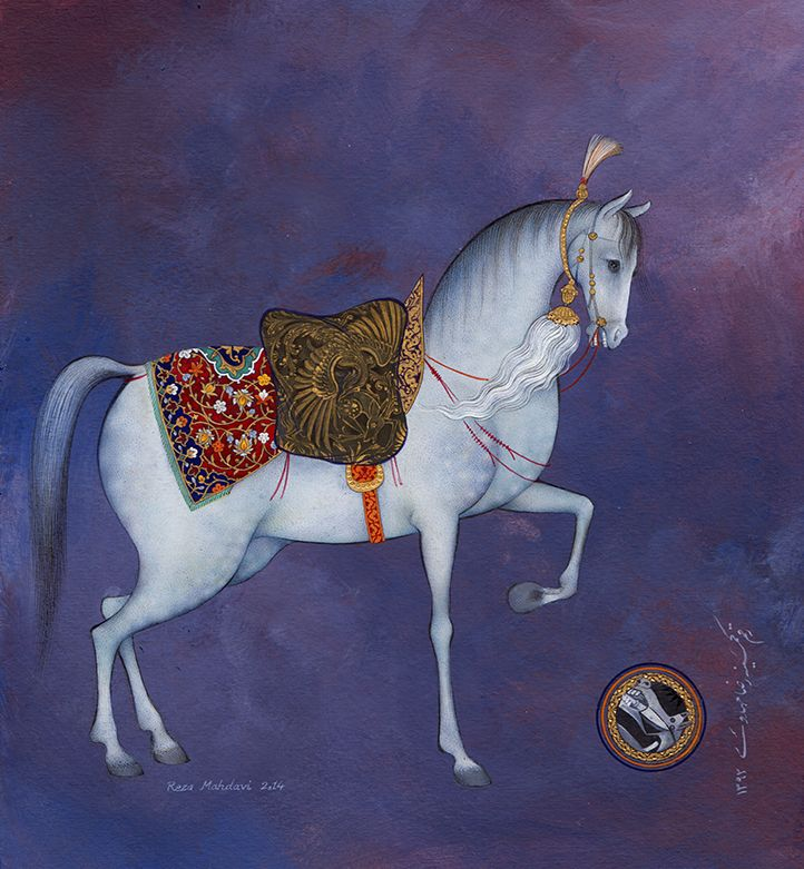 the horse, by reza mahdavi, 2014