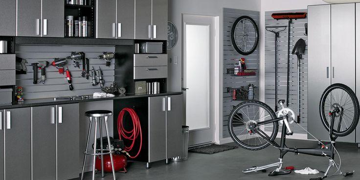 Love to have this much organization in my garage - Garage Storage | California Closets