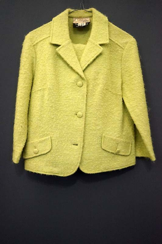1960's woollen suit for sale in the Mabs Collection