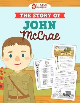 John McCrae & Remembrance Day { Biography and Comprehension $