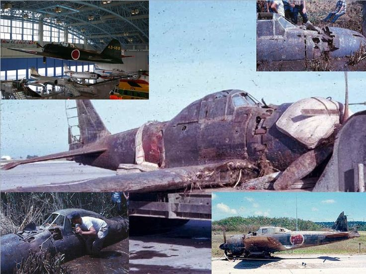 Found and fully restored! The A6M5 Zero 43-188 shot down on June 19, 1944 浜松基地