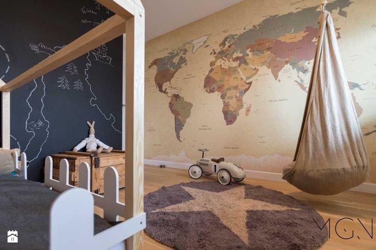 Pokój dziecka styl Nowoczesny - zdjęcie od Pracownia Architektoniczna Małgorzaty Górskiej-Niwińskiej - Pokój dziecka - Styl Nowoczesny - Pracownia Architektoniczna Małgorzaty Górskiej-Niwińskiej