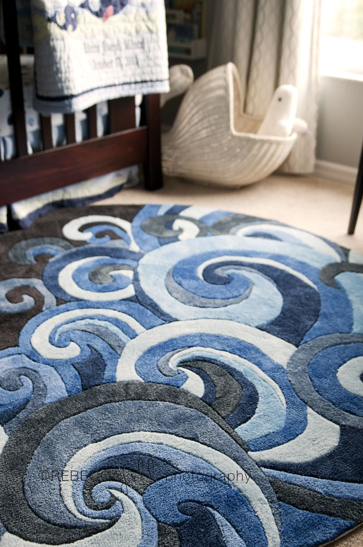 Rocco's Beluga Whale Nursery Love the rug