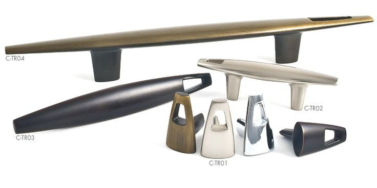 Tribal hardware line by @Du Verre Hardware Contemporary Eco-Friendly Cabinet Hardware #blogtourcgn