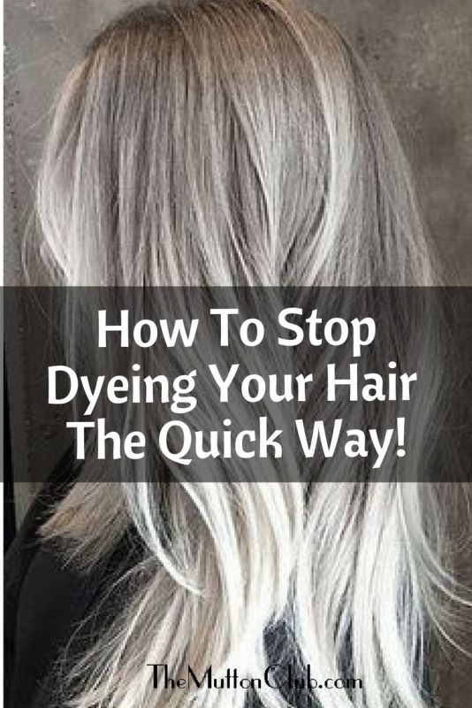How To Cease Dyeing Your Hair: The Fast Approach