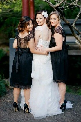 T*he Back* of the dress u asked about Anna Campbell Bridesmaids - Anna Campbell designer bridal fashion Melbourne