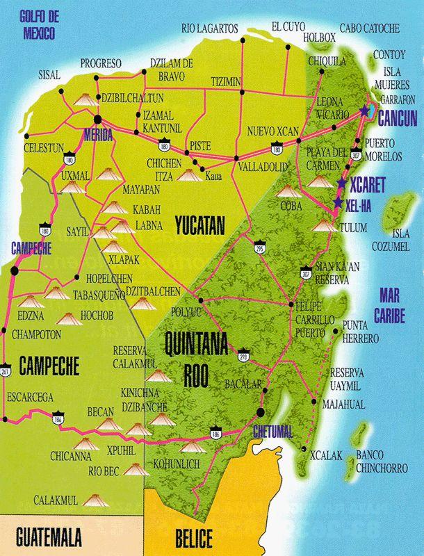 Mexique : A la découverte des 5 plus belles pyramides de l'Est du Yucatan