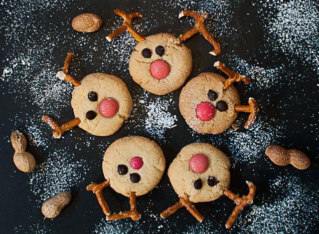 ber ideen zu rentier cookies auf pinterest rentier weihnachtspl tzchen weihnachts. Black Bedroom Furniture Sets. Home Design Ideas