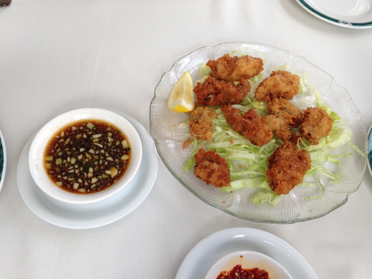 Fried Oysters.